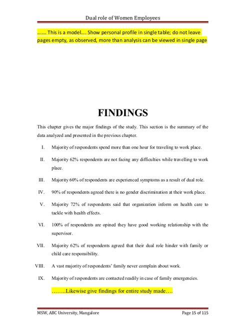 Dissertation Checklist Check List Amp Research Dissertation Model Chapter 4 5 6