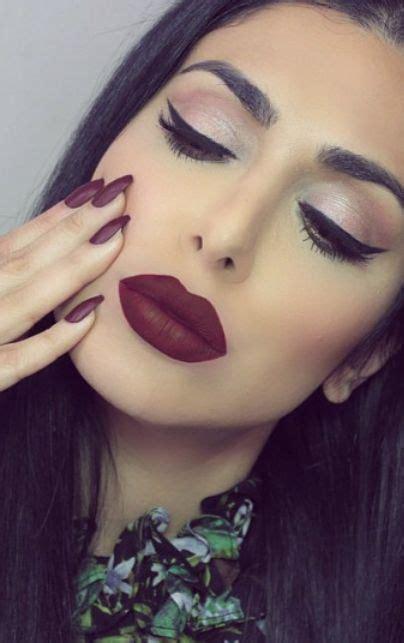 matte maroon lipstick maroon matte lipstick and matte nail polish makeup