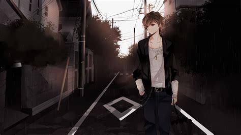download wallpaper anime boy hd sad anime boy image 1080p one hd wallpaper pictures