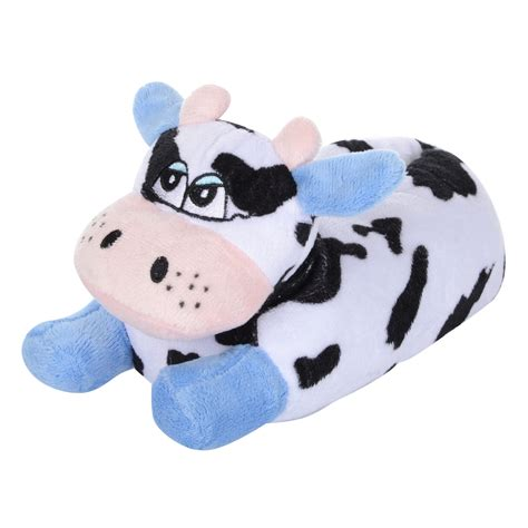 infants slippers mad moo novelty cow soft warm