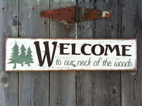 country signs nail signs painted country signs 25