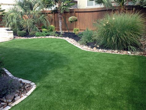 Landscaping For A Small Backyard by Synthetic Turf Installation Boerne Kendall County