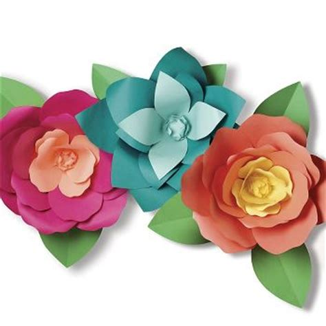 Paper Flower Kit - great big paper flowers kit