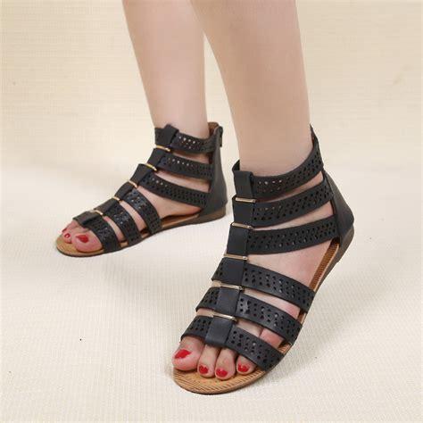 Fashion Sandal Import 1 fashion flat gladiator sandals black sandal shoes for summer 1 just fashion