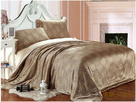 twin size comforter cover brown paisley luxury silk satin bedding comforter set king