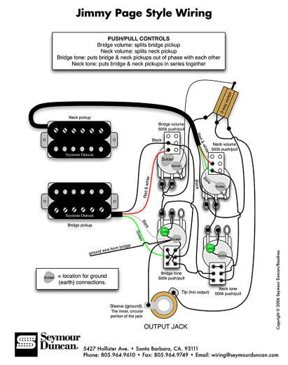 need help with jimmy page wiring