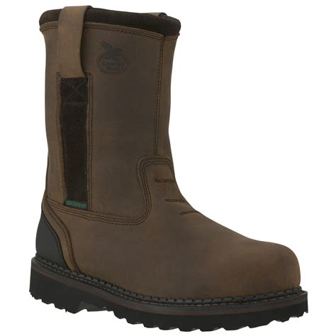 wellington work boots for s boots 174 10 quot brookville steel toe waterproof