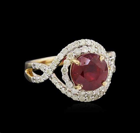 Ruby 3 15ct 3 15ct ruby and ring 14kt yellow gold
