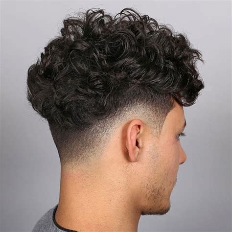 Curly Hairstyles Thick Hair Fade Haircut 35 Best Sides Top Haircuts 2019 Guide