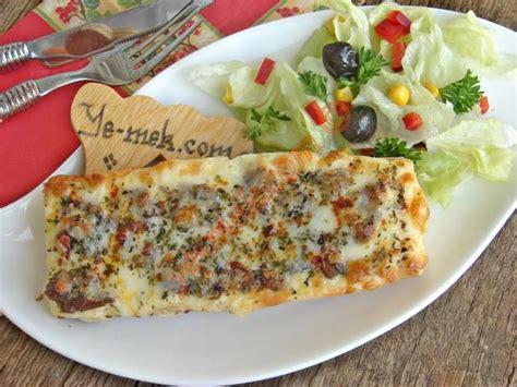 kolay pratik resimli pizza tarifleri nefis yemekler kavurmalı ekmek pizzası tarifi resimli anlatım kolay