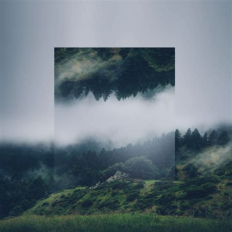 Landscape Photography Artists Calm And Soothing Geometric Landscape Photo Manipulations