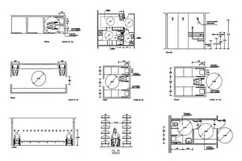 vestibulo independencia aseos bloques cad autocad arquitectura download 2d 3d dwg