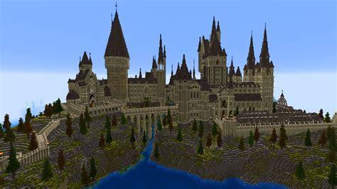 Hogwarts by Hogwarts Aus Harry Potter In Minecraft Massig Details