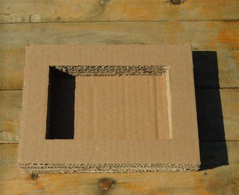 cornice in cartone riciclo creativo cartone foto 2 40 tempo libero