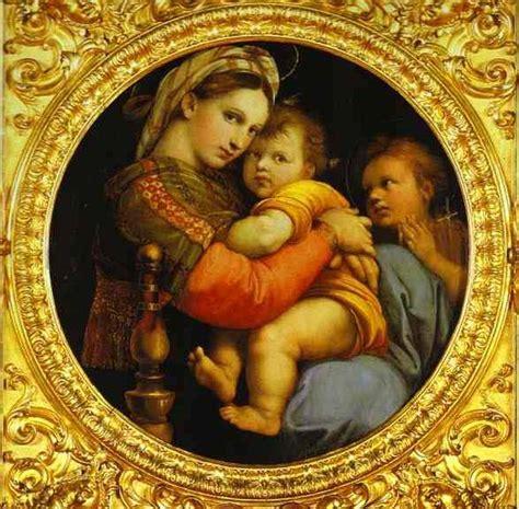 madonna della sedia madonna della sedia raphael painting reproductions