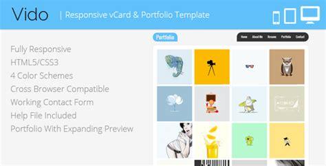 demdous mobile vcard template by thememarket themeforest vido responsive vcard template by lmpixels themeforest