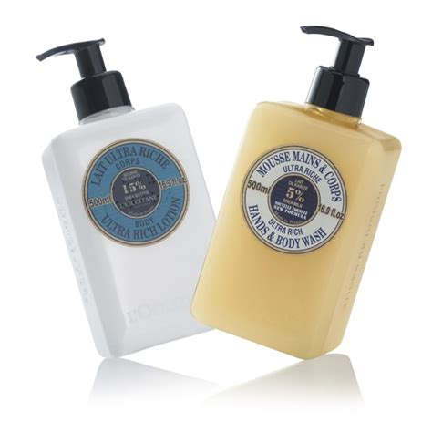 Loccitane Fairtrade Shea Butter Hippyshopper by L Occitane Nourishing Shea Butter Gift Set Skincare