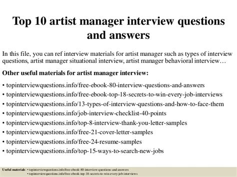 What Is A Artist Manager by Top 10 Artist Manager Questions And Answers