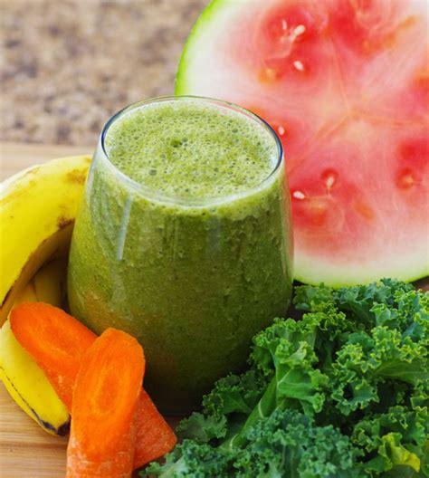 Kale Detox Smoothie by Watermelon Kale Detox Green Smoothie Recipe Davyandtracy