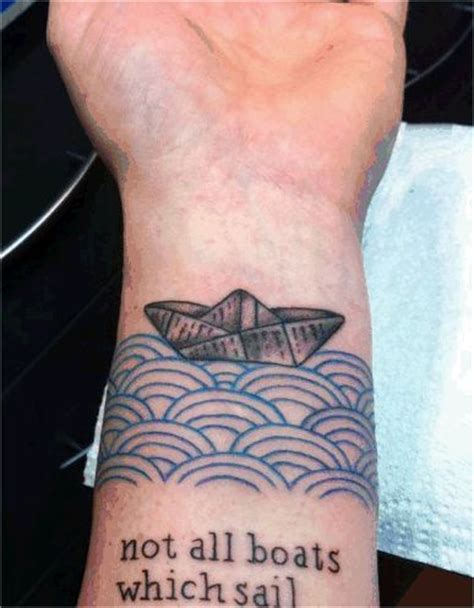 small boat tattoo boat tattoos designs ideas and meaning tattoos for you