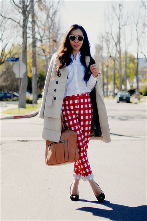 Luella Agnes Handbag by Gingham 7 With Cool Prints To Rock This Season