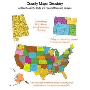 editable us map with counties usa county world globe editable powerpoint maps for