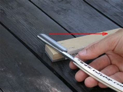 how to sharpen a razor blade for cutting hints for shave with a razor knife and sharpening with