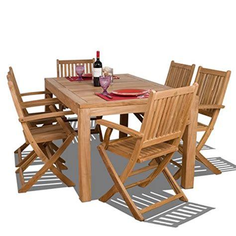 international home amazonia hallie rectangular dining set 7 amazonia teak budapest 7 teak rectangular dining set home patio and furniture