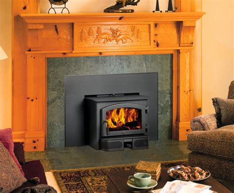 Small Wood Burning Fireplace Inserts by Lopi 1750i Metro House Of