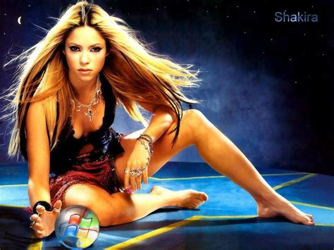 hot images themes theme windows xp sexy shakira wallpapers w3 directory