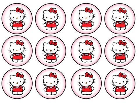 Hello Cupcake Topper Template by 56 Best Hello Kitti Printables Images On