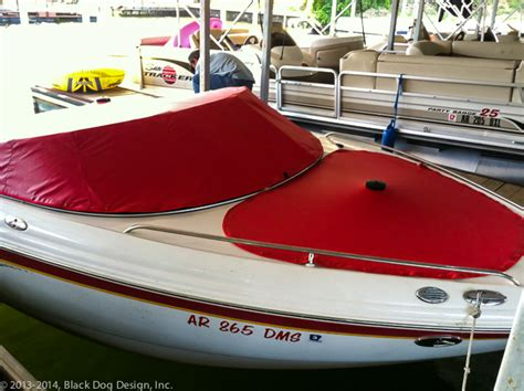 boat bow cover boat covers black dog design inc