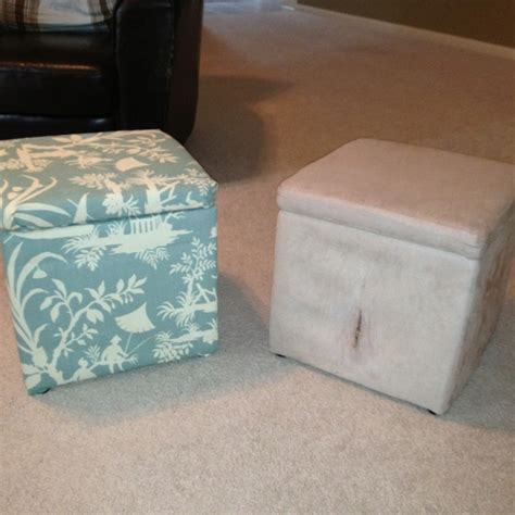 reupholster ottoman yourself 48 best images about reupholster fabrics tips on