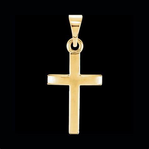 simple cross pendant jewelry by gracious