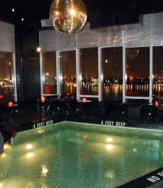 bright lights my city le bain pool and roof bar opens