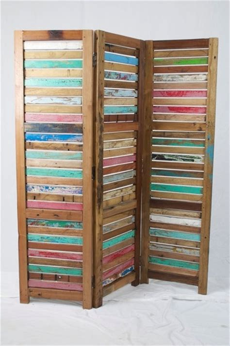 Reclaimed Wood Room Divider Dishfunctional Designs Home Decor Made From Salvaged Reclaimed Wood