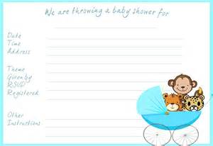 baby shower invitations jungle theme for free for