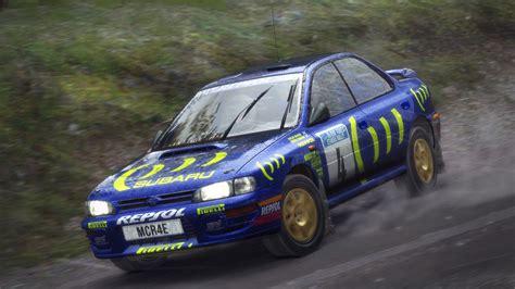 subaru rally race dirt rally colin mcrae subaru impreza 1995 finland