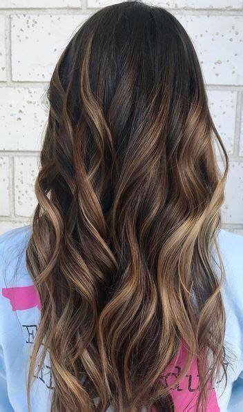hair styles dark on top and light on bottom best 20 highlights for dark hair ideas on pinterest