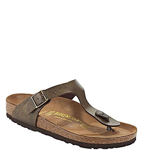 dillards womens sandals birkenstock 180 s gizeh sandals dillards