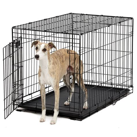 ace for dogs stages ace single door crate for dogs black intermediate 36 quot