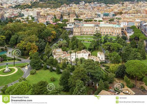 Gardens Of Vatican City by Gardens Of Vatican City Stock Photo Image 48105300