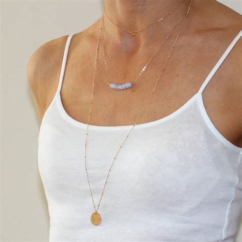 delicate gold choker necklace by a box for my treasure