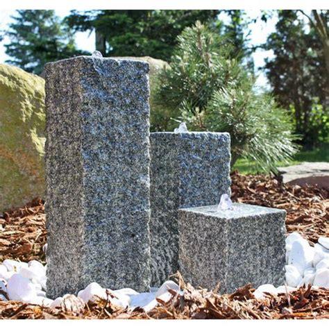 s 228 ulen brunnen aus stein mit led beleuchtung granit