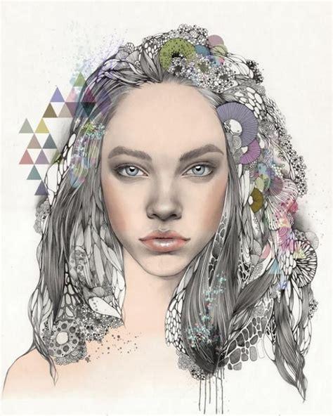 imagenes artisticas de rostros pinturas cuadros lienzos ilustraciones art 237 sticas caras