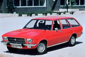 Opel Rekord Caravan Opel Rekord D Caravan 1 9 S 97 Hp
