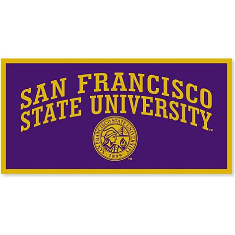 san francisco state university 18''x36'' banner | san