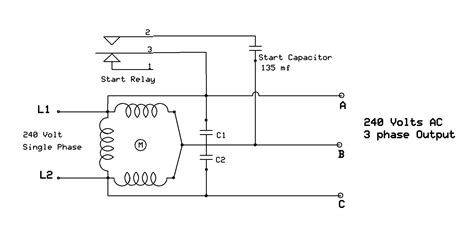 4 wire single phase wiring 3 phase to 1 phase wiring