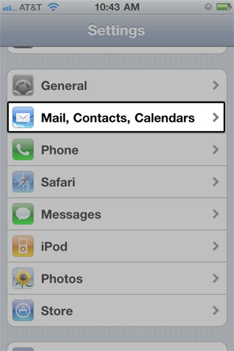 how i set up email on my iphone or ipod touch media temple