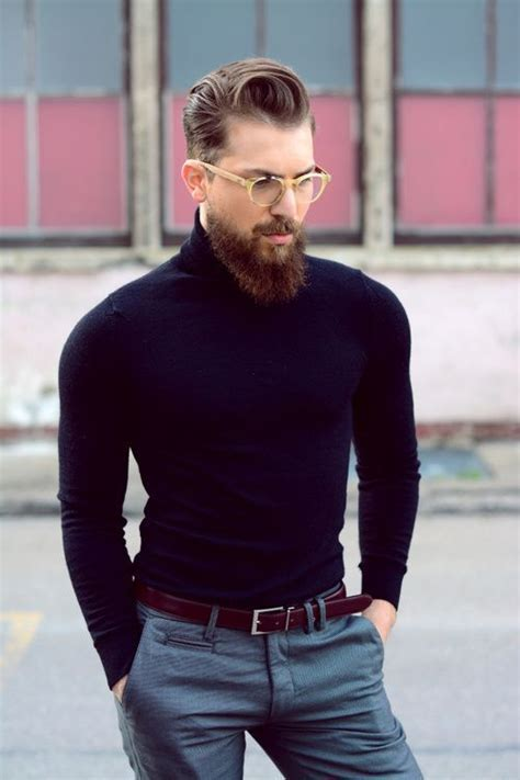 41976 Black White Horn And Knit Casual Top Le250517 Import 25 best ideas about mens turtleneck on fashion casual winter fashion and